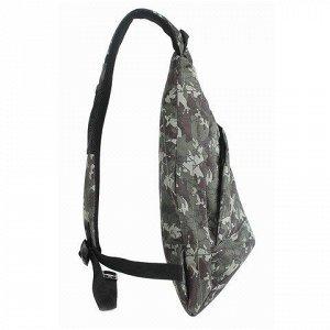 Рюкзак WENGER с одним плечевым ремнем универсальный, камуфля