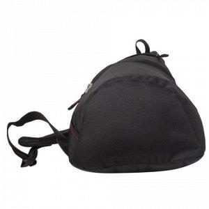 Рюкзак WENGER с одним плечевым ремнем универсальный, черный,