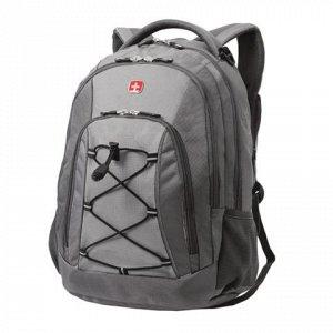 Рюкзак WENGER универсальный, серый, светло-серые вставки, 28