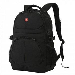 Рюкзак WENGER универсальный, черный, 22 л, 34*15*47 см, 3001
