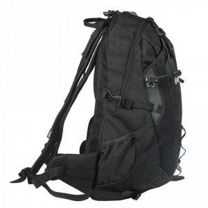 Рюкзак WENGER универсальный, черный, туристический, 28 л, 29