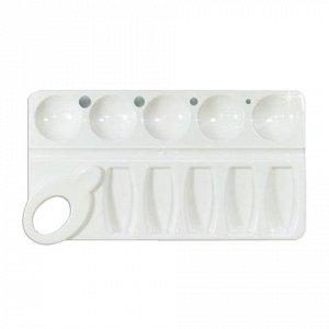 Палитра для рисования СТАММ пластиковая, прямоугольная, 4 от