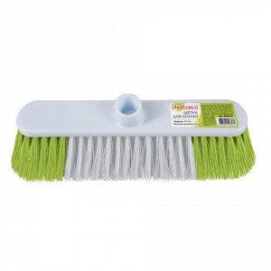 Щетка для уборки, ширина 31см, щетина 8см двуцветная, пласти