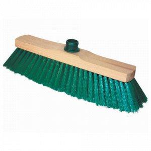 Щетка для уборки, ширина 32см, щетина 7см, деревянная, крепл