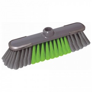 Щетка для уборки, ширина 32см, щетина 7см, пластик, прорезин