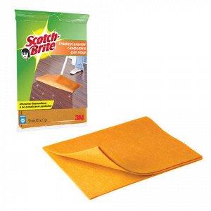Тряпка для мытья полов SCOTCH-BRITE, вискоза, 50х60 см, FC-S