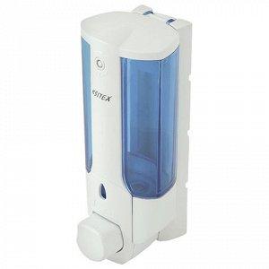Диспенсер для жидкого мыла KSITEX, НАЛИВНОЙ, белый, 0,3 л, S