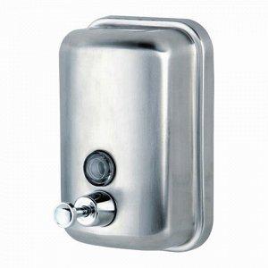 Диспенсер для жидкого мыла KSITEX, НАЛИВНОЙ, нерж.сталь, мат