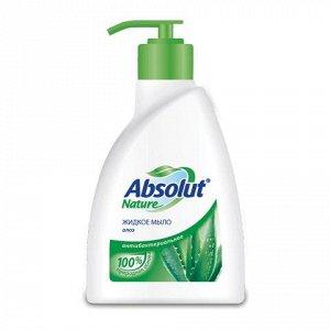 "Мыло жидкое 250мл ABSOLUT (Абсолют) ""Алоэ"", антибактериально"
