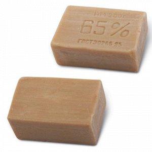 Мыло хозяйственное 65%, 200г (ЭФКО), без упаковки, Х102/1/80