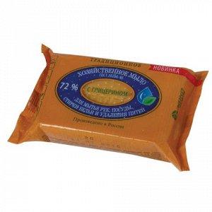 Мыло хозяйственное 72%, 150г (ЭФКО) Традиционное, с глицерин