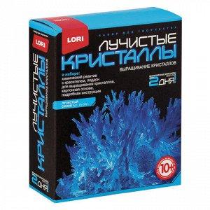 """Набор для изготовления лучистых кристаллов """"Синий кристалл"""","""