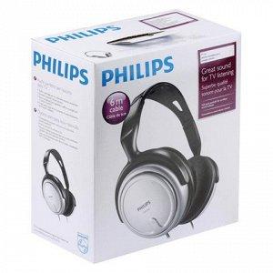 Наушники PHILIPS SHP2500/10, проводные, 6м, стерео, полнораз