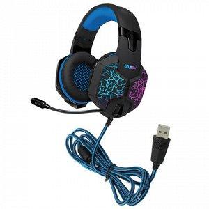Наушники с микрофоном (гарнитура) SVEN AP-U980MV, проводные,