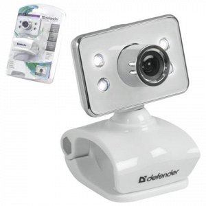 Веб-камера DEFENDER G-lens 321-I, 0.3Мп,микрофон,USB 2.0,под