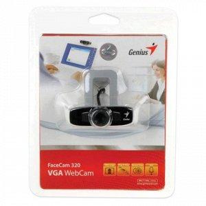 Веб-камера GENIUS Facecam 320, 0,3 Мп, микрофон, USB 2.0, ре