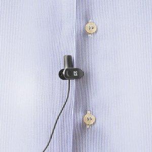 Микрофон-клипса DEFENDER MIC-109, кабель 1,8 м, 54дБ, пласти