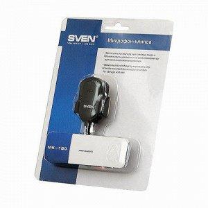 Микрофон-клипса SVEN MK-150, кабель 1,8 м., 58 дБ, пластик,