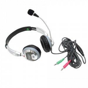 Наушники с микрофоном (гарнитура) DEFENDER HN-928, 3м, с ого