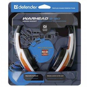 Наушники с микрофоном (гарнитура) DEFENDER Warhead G-120, пр