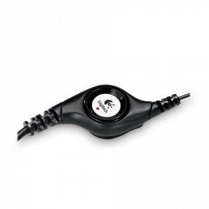 Наушники с микрофоном (гарнитура) LOGITECH H390, проводные,