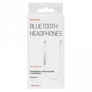 Наушники с микрофоном (гарнитура) RED LINE BHS-01, Bluetooth