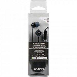 Наушники с микрофоном (гарнитура) SONY MDR-EX15AP, проводные