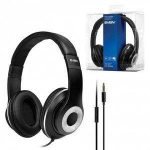 Наушники с микрофоном (гарнитура) SVEN AP-930M, провод 1,3м,