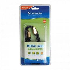 Кабель HDMI-miniHDMI 1,8м DEFENDER, M-M, для передачи цифров