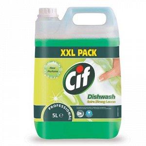 Средство для мытья посуды 5л CIF (Сиф) Professional, концент