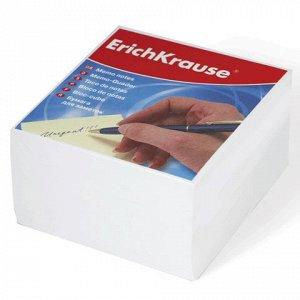 Блок для записей ERICH KRAUSE непроклеенный, куб 9*9*5 см, б