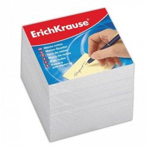 Блок для записей ERICH KRAUSE непроклеенный, куб 9*9*9 см, б