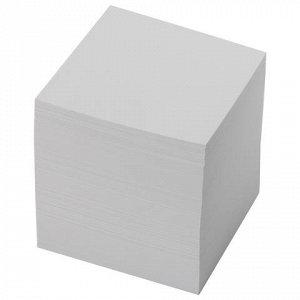 Блок для записей BRAUBERG в подставке прозрачной, куб 9*9*9