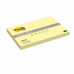 Блок самоклеящ. (стикер) POST-IT Basic 76х127 мм, 100 л., же