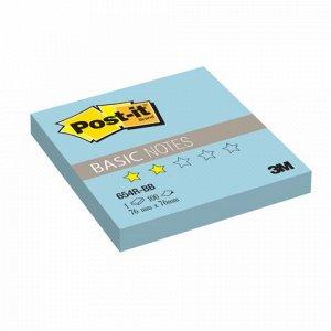Блок самоклеящ. (стикер) POST-IT Basic 76х76 мм, 100 л., гол