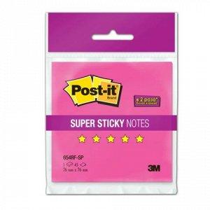 Блок самоклеящ. (стикер) POST-IT Super Sticky 76х76 мм, 45 л