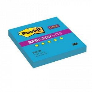 Блок самоклеящ. (стикер) POST-IT Super Sticky 76х76 мм, 90 л