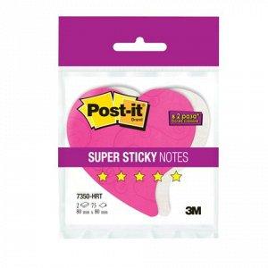 Блоки самоклеящ. (стикеры) POST-IT Super Sticky, КОМПЛЕКТ2шт