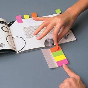 Закладки клейкие POST-IT Professional, бумажные, 12,7 мм, 10