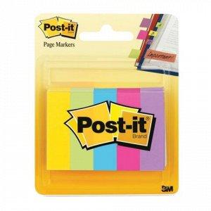 Закладки клейкие POST-IT Professional, бумажные, 12,7 мм, 5