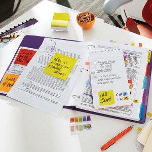 Закладки клейкие POST-IT Professional, пластик, 25мм, 3 цвет