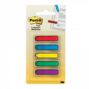 Закладки клейкие POST-IT Professional, пластиковые, 12 мм, 5