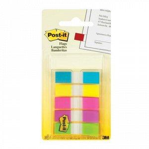 Закладки клейкие POST-IT Professional, пластиковые, 12мм, 3+