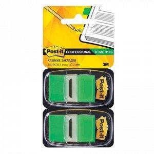 Закладки клейкие POST-IT Professional, пластиковые, 25 мм, 1