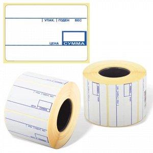 Этикетка ТермоЭко, для термопринтера и весов 58*40*700шт(рол