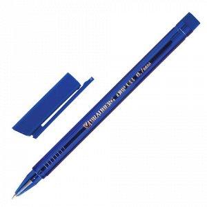 Ручка шариковая масляная BRAUBERG Marine, корпус тониров. си