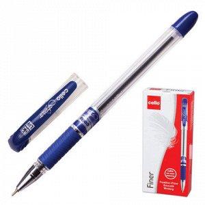 Ручка шариковая масляная CELLO Finer, игольчатый узел 0,3мм,