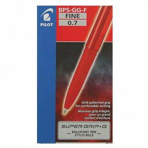 Ручка шариковая масляная PILOT Super Grip G, узел 0,7мм, лин