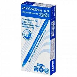 Ручка шариковая масляная UNI (Япония) JetStream, корпус сини