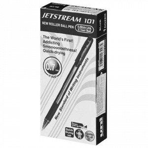 Ручка шариковая масляная UNI (Япония) JetStream, корпус черн
